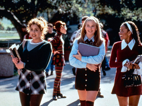 Is that the cast of Clueless? Nah, it's just a group of Gen Z middle schoolers.