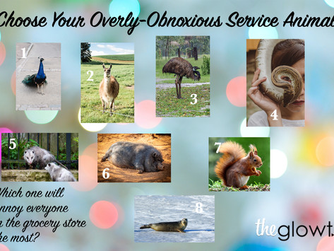 Choose Your Overly-Obnoxious Service Animal
