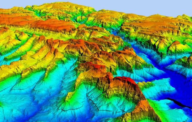 Large Exploration Lease DTM (Digital Terrain Model)