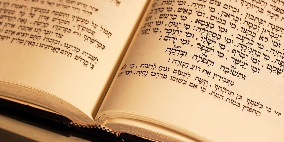 Yom Kippur Morning Services