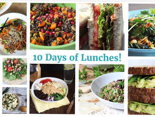 10 Days of Lunches
