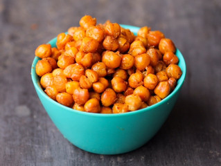 Healthy Snacks - Chickpeas!