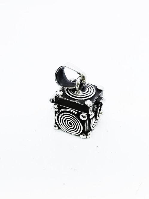 Urna cofre de los deseos cubo corazon de espiral