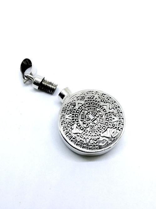 Perfumero/urna para Ceniza calendario azteca