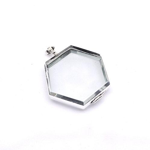 Relicario hexagonal jumbo