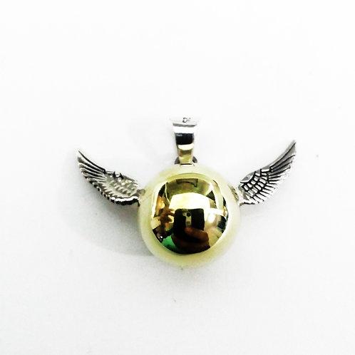 Llamador de Angel snicht dorada Harry potter