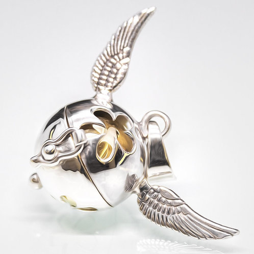 Llamador de Angel con alas calado con flor