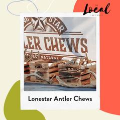 Lonestar Antler Chews