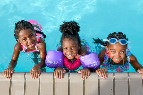 Family Pool Center at Traditions Club and Community in Bryan, Texas, outdoor summer activity, swimming at Traditions
