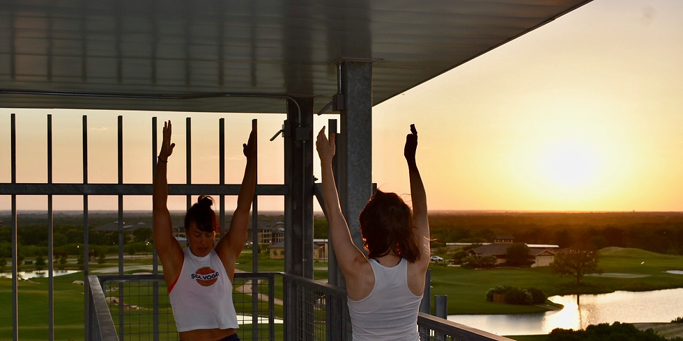 Sunset Yoga | Top of the Tower