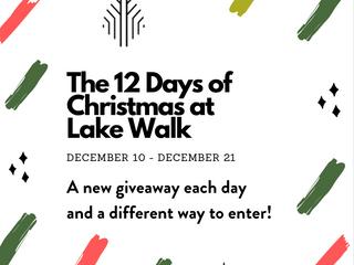 12 Days of Giveaways at Lake Walk