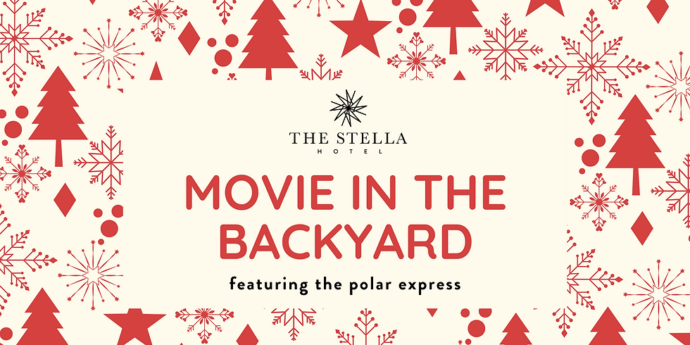 Christmas in the Backyard: The Polar Express