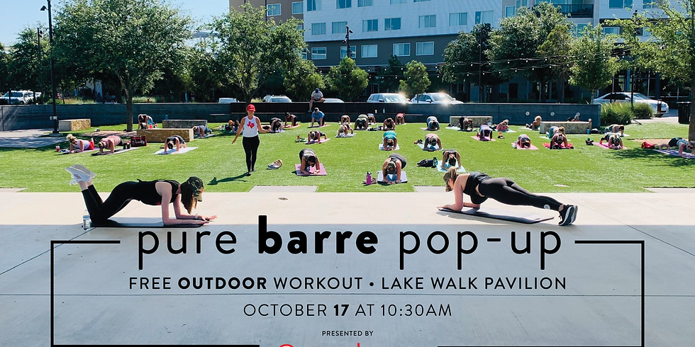Pure Barre Pop-Up
