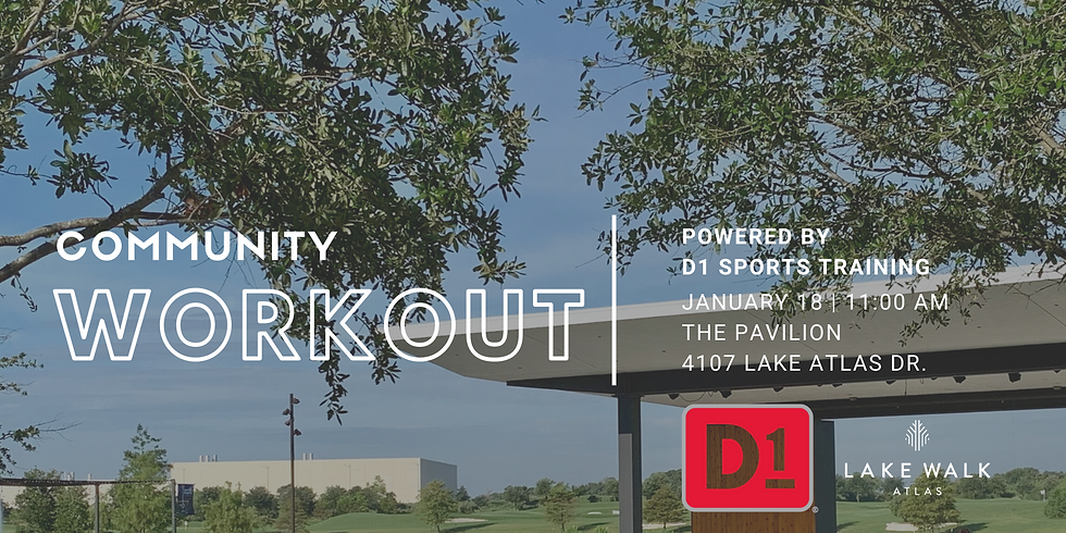 D1 Training Community Workout