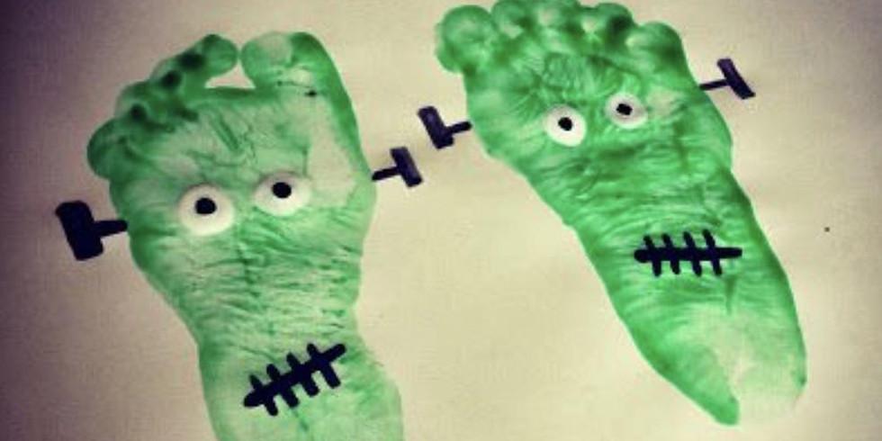 Frankenstein Footprints