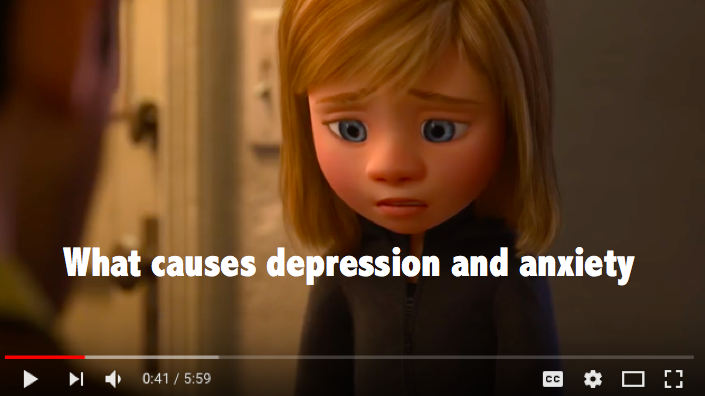 What causes depression and anxiety