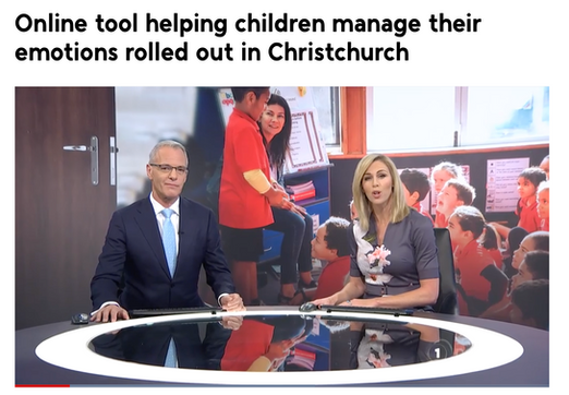 Coverage of Christchurch visit on TVNZ One News