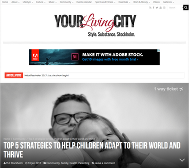 Your Living City Sweden Article