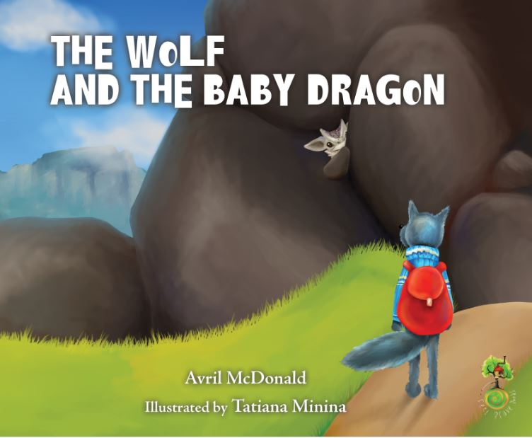 The Wolf and the Baby Dragon low res