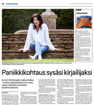 Article in Finnish Newspaper and Magazines