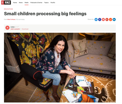 Radio NZ Interview on 'Nine to Noon' Parenting Show
