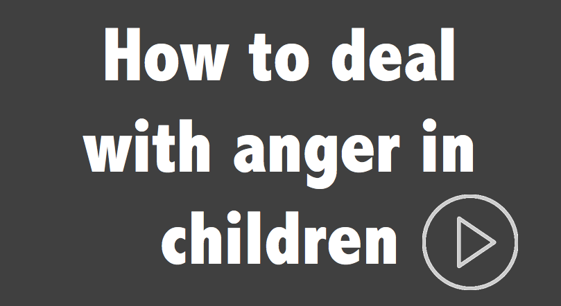 Great method for dealing with anger