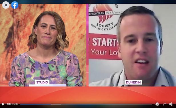Interview on TV1's Breakfast Show