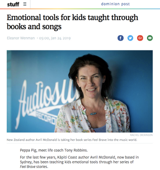 Interview in NZ's Dominion Post
