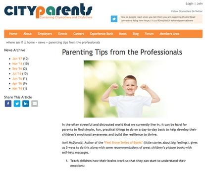 City Parents UK Article