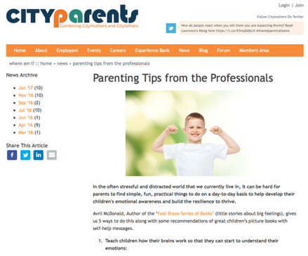 City Parents UK Article