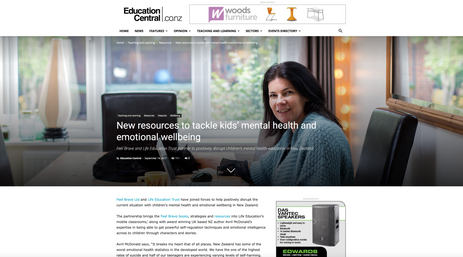 Education Central NZ Article