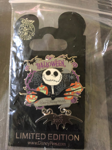 Nightmare before Christmas Jack LE Pin