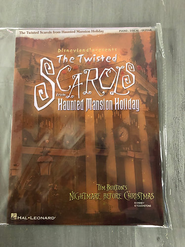 Rare Scarols from the Haunted Mansion Nightmare before Christmas Event