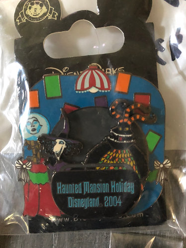 Nightmare before Christmas Jester/Shock LE Pin Haunted Mansion Holiday 2004