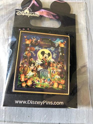 Nightmare before Christmas Disney Hong Kong Resort LE Pin Rare