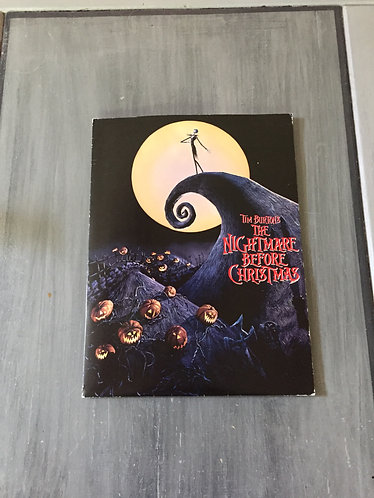 1994 Nightmare before Christmas Press Kit - Home Movie/A&W Root Beer