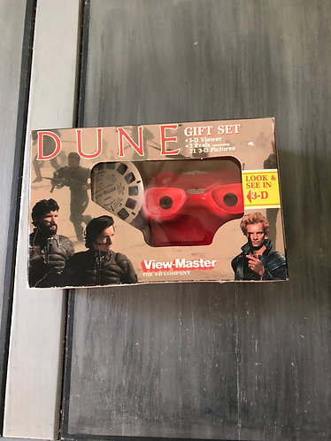 Dune Viewmaster 3D Viewer and Slides