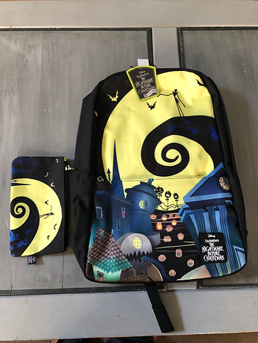 2018 NYCC Loungefly Nightmare before Christmas Backpack and Purse 300 Made