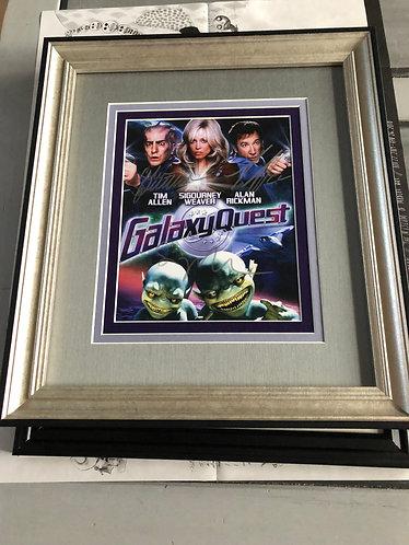 Galaxy Quest Signed Cast - Sigourney Weaver, Alan Rickman, Tim Allen