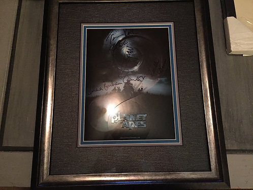 Rare signed Planet of the Apes Press Kit signed by Tim Burton