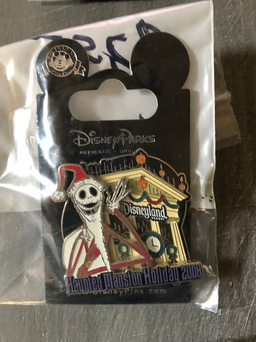 Nightmare before Christmas Jack Haunted Mansion 2008 Holiday Pin LE
