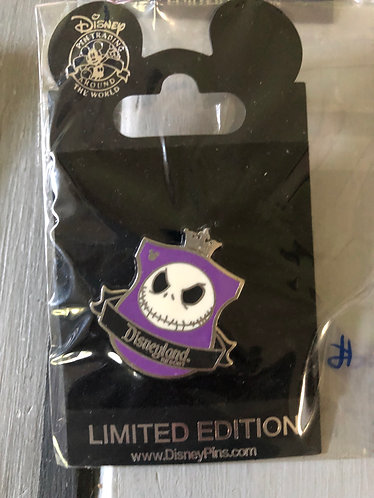 Nightmare before Christmas Jack Disneyland Resort Pin