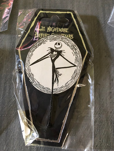 Nightmare before Christmas Jack Holiday Pin Large