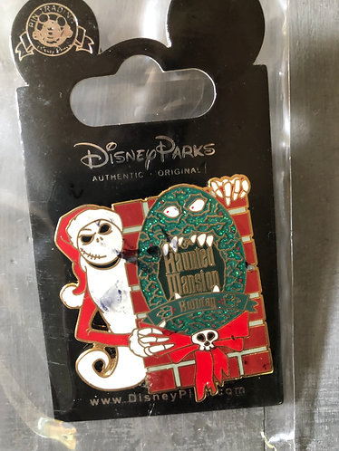 Nightmare before Christmas Jack Haunted Mansion Holiday LE Pin