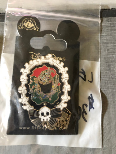 Nightmare before Christmas Oogie Boogie Wreath LE Pin