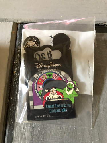 Nightmare before Christmas Oogie/Santa Haunted Mansion 2004 Holiday Pin LE