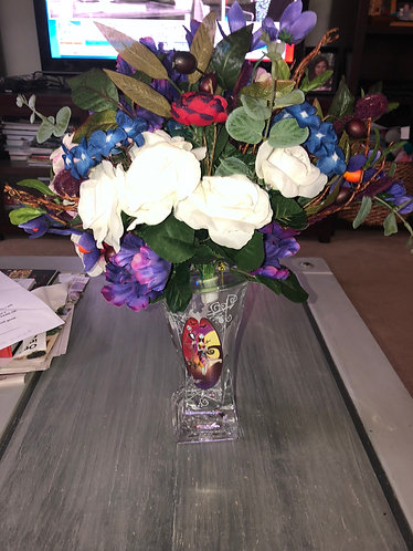 Nightmare before Christmas Lighted Vase Bradford Exchange