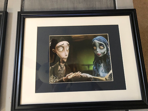 Corpse Bride Matted and Framed Photo