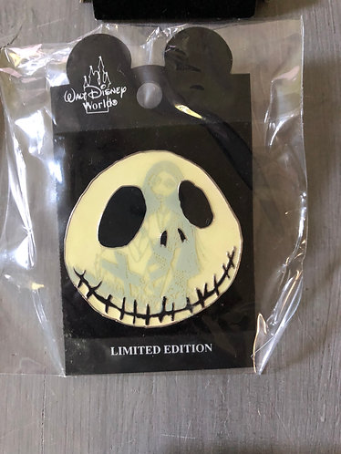 Nightmare before Christmas Jack Face Pin
