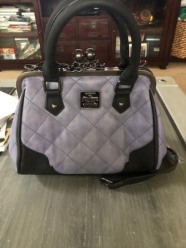 Nightmare before Christmas Purple Quilted Handbag